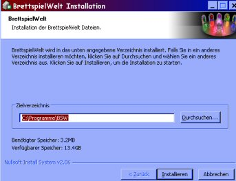 Installationsfenster